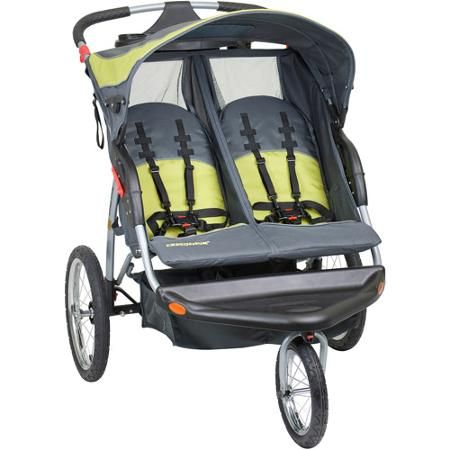 Baby Trend - Expedition Double Jogging Stroller, Carbon - Walmart.com