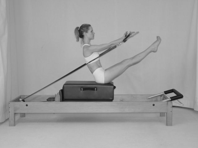 great pics of Pilates reformer exercises