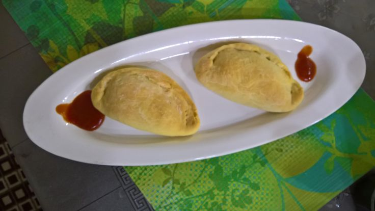 [homemade] Calzone pockets. Wife too shy to post.