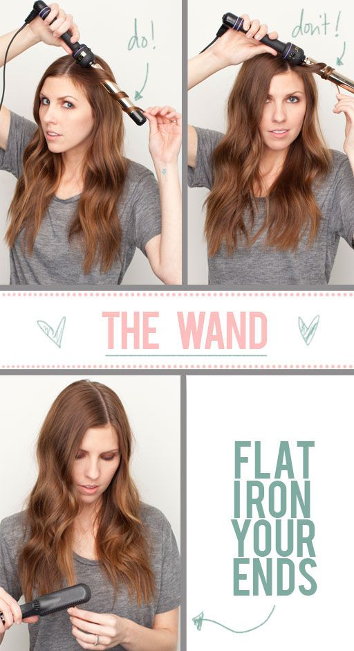 The Beauty Department: Your Daily Dose of Pretty. - Curling wand how to!