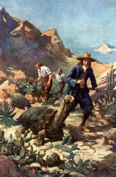 William Dampier & his crew   Explore