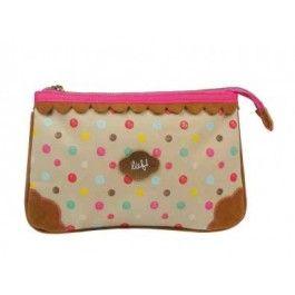 Make-up tas lief! homemade. Ook te gebruiken als toillettas.