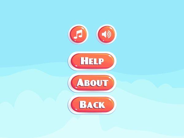 Chicky Run [game app] by Leng Sheng Hui, via Behance