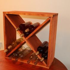 How to make a wine rack storage cube - Jeff's DIY Projects