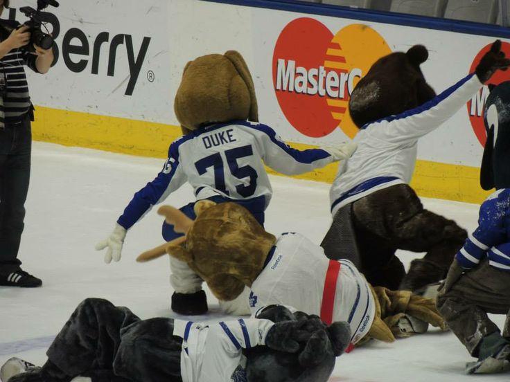 On-ice mayhem!