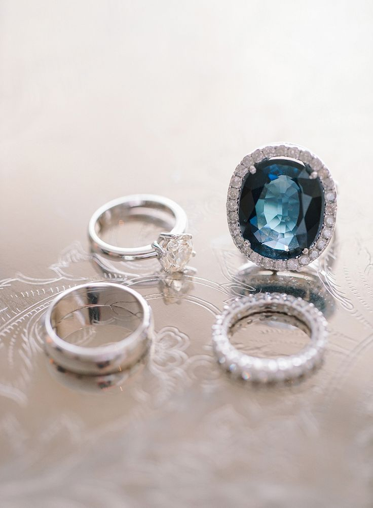 Engagement ring and bridal jewellery inspiration {Facebook and Instagram: The Wedding Scoop}