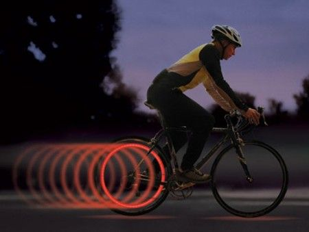 LED Bike Light – Make yourself visible while riding your bicycle during the night ( read more and see where you can buy - http://upgrade.ly/?p=943 )