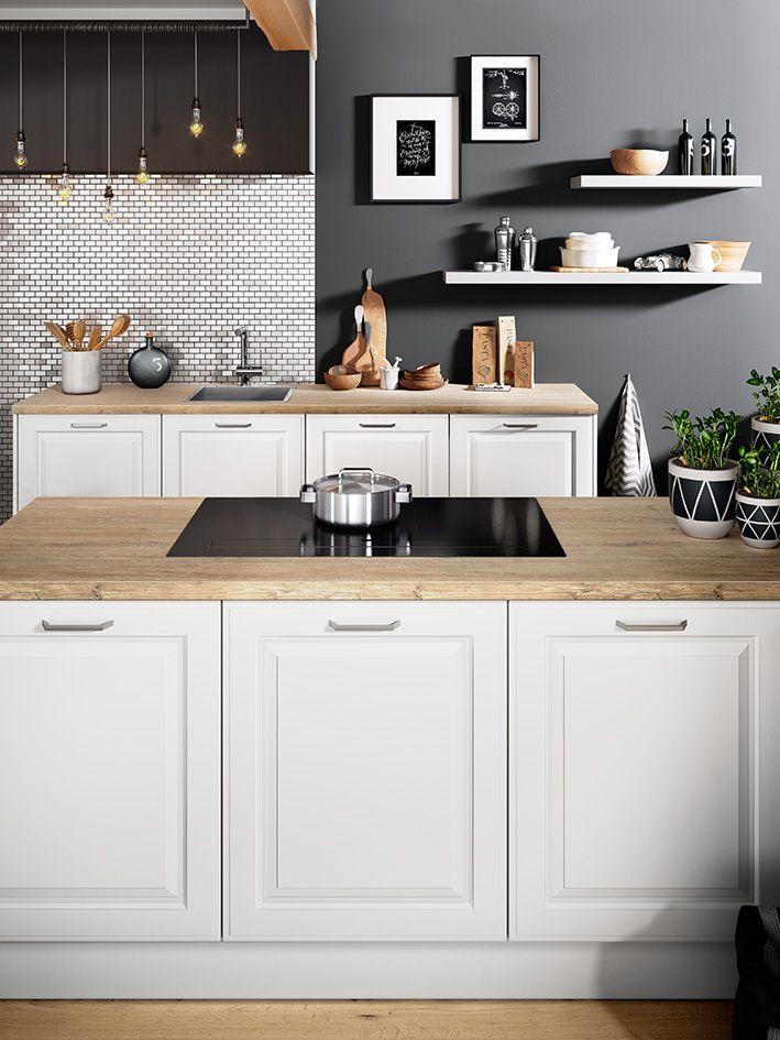 BREDA Weiß /Produktlinie Classic #häckerküchen #häcker #küchen #  Küchenplanungen #classic #