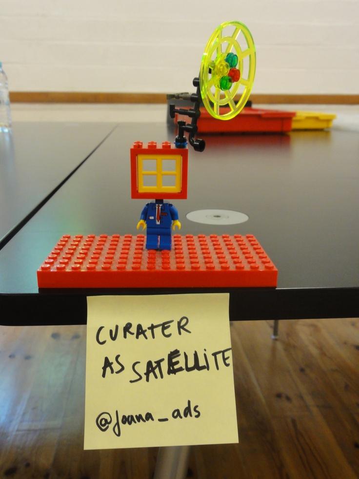 Curator as satellite