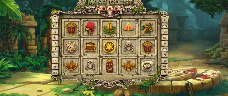 """Our team offers you to appreciate the upscale work that has been done to create  objects and elements for the slot machine """"Maya quest"""", as well as top-notch animation, which pleases the eye with its smooth and rich variations. http://slotopaint.com/"""
