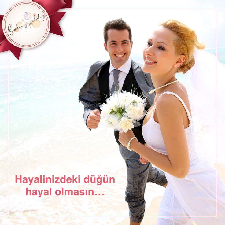 Hayalinizdeki düğün hayal olmasın!  Rahat ve keyifli bir düğün hazırlığı süreci geçirmek için siz de Şahnaz Yıldız Organizasyon'u tercih edin... http://sahnazyildiz.com
