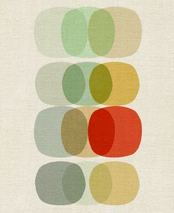 inaluxe 'Keep It Simple Circle' print: Modern Artworks, Inspiration, Simple Circles, Pattern, Keep It Simple, Colors, Art Prints, Inaluxe, Circles Art