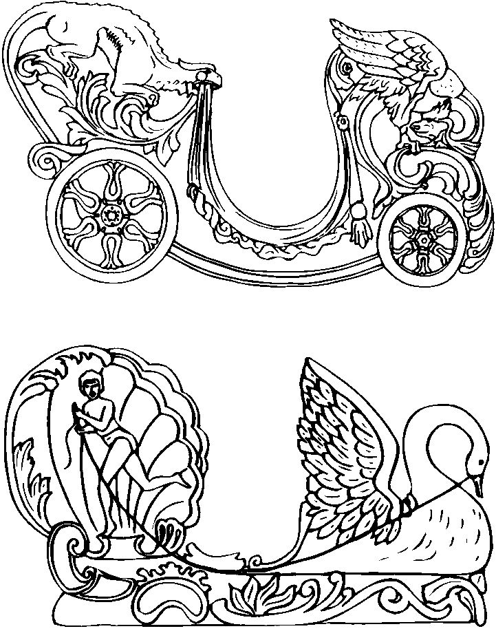 coloring pages of carousel zebra - photo#4
