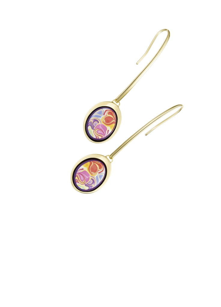 Watredrop earrings, Floral Symphony - Bouquet of Dreams, FREYWILLE, Baneasa Shopping City