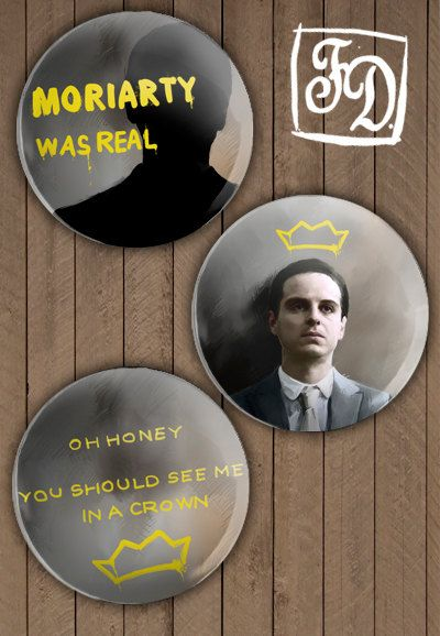 Moriarty was real.: Sherlock Moriarty, Buttons Sherlock, 221B Baker Street, Remotely Sherlock, Moriarty Was Real, Sh T Sherlock, Bakerstreet Stuff, Moriarty Sherlock