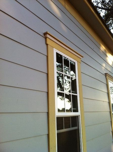 best 20 outdoor window trim ideas on pinterest starter home exterior windows and exterior trim - Exterior Window Moulding Designs