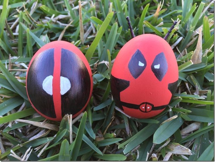 Terrific Deadpool Easter Eggs made by Danielle from From Girlie to Nerdy