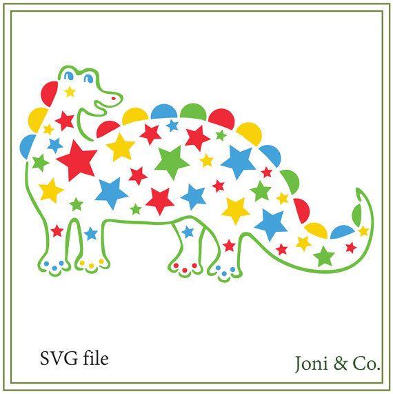 Dinosaur Instant Download, Star Dinosaur svg, Children's room svg, Kids svg, Sale- 25% off purchase of 12 dollars or more. Use: SVGSALE