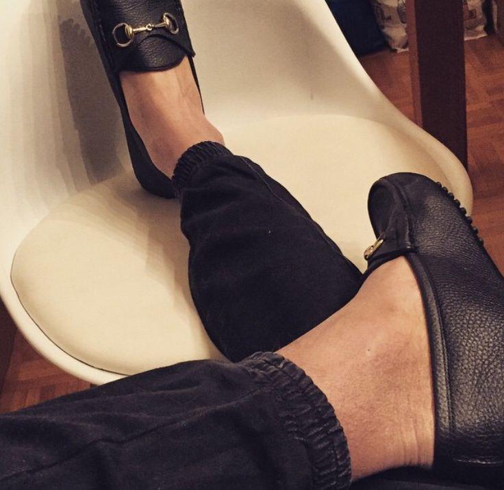 Gucci loafers & Jogpants Asos