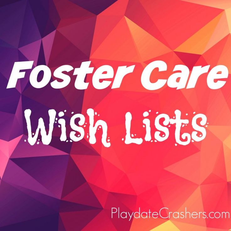 Foster Care Wish Lists