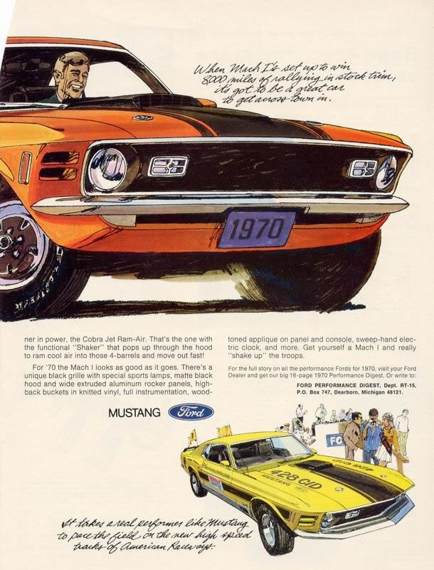 Mustang Car Ads | Old Car Ads Home | Old Car Brochures | Old Car Manual  Project ... | Vintage Cars | Pinterest | Brochure, Ricerca E Vecchie Auto Amazing Pictures