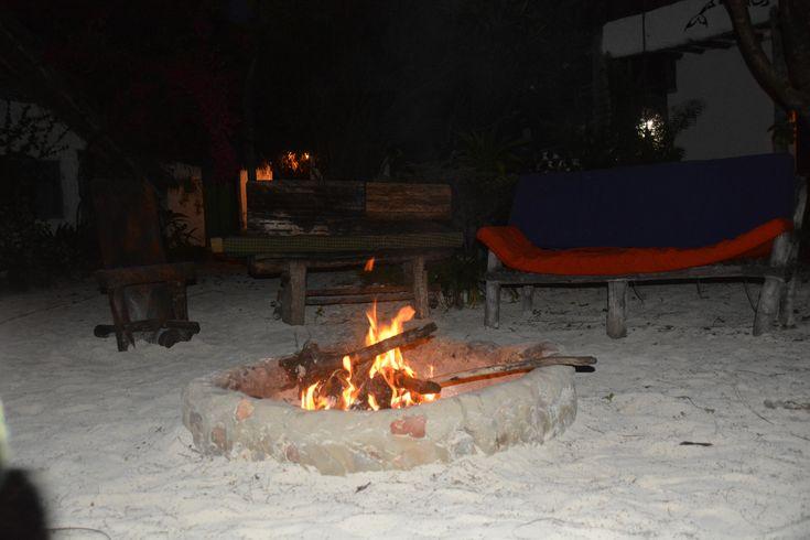 Fireplace in Paje, Zanzibar