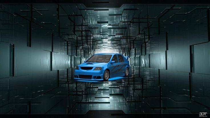 Dacia Logan 2007 3DTuning