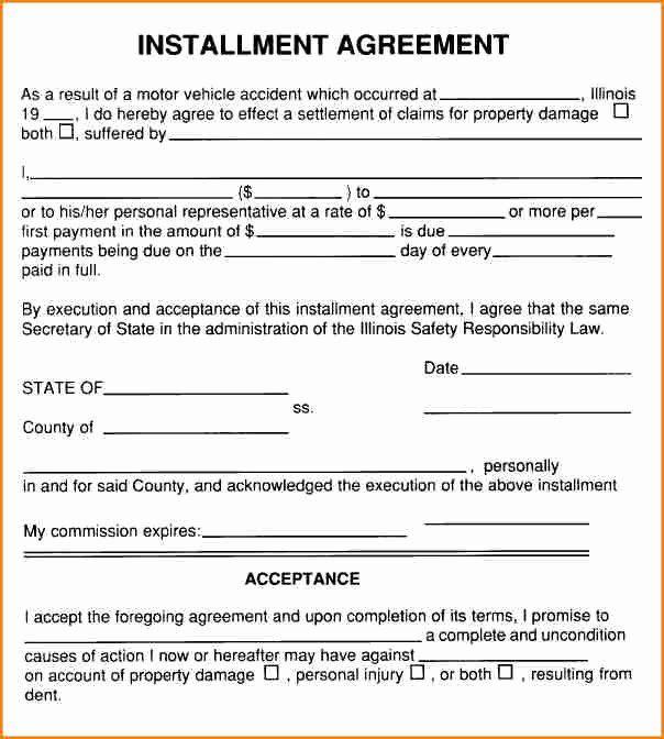 Payment Plan Agreement Beautiful 6 Installment Payment Contract Template Contract Template How To Plan Templates