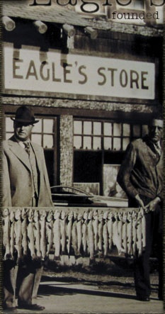 Eagle's Store, West Yellowstone, Montana - A good day of fishing