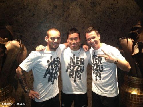 ♡ Netherlands Sneijder / Japan Nagatomo / Italy Cassano ♡