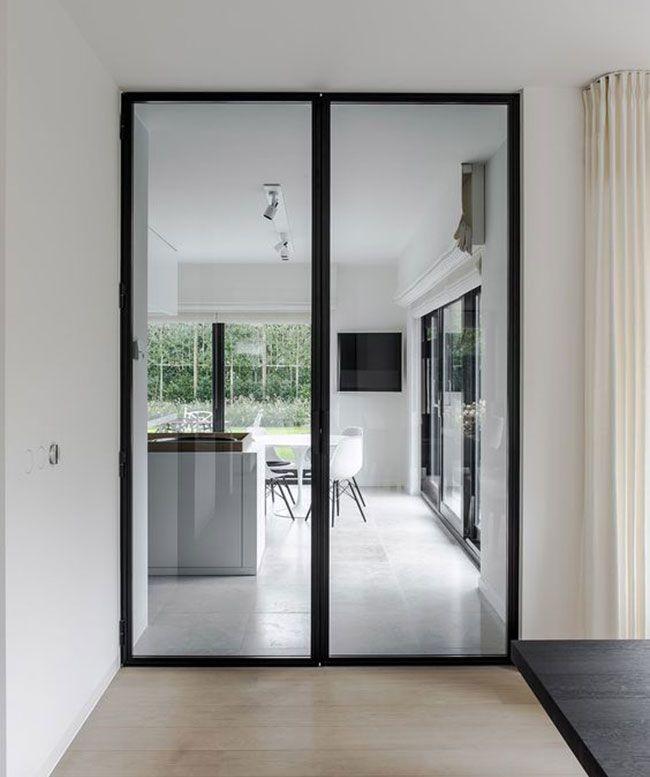 Puertas de acero en negro. – Interiores Chic | Blog de decoración nórdica
