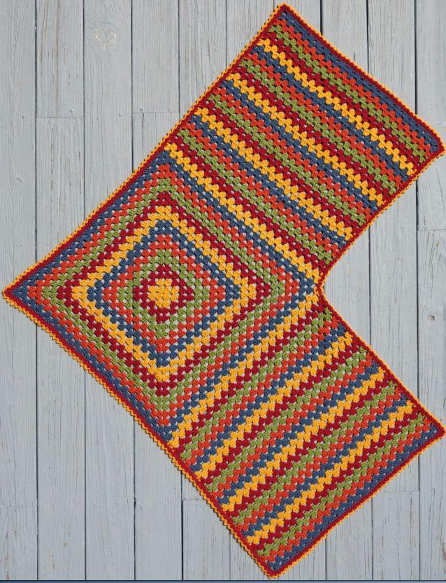 Easy Granny Shawl & Ruana & Treble Crochet Hat pattern - -Mainly ...