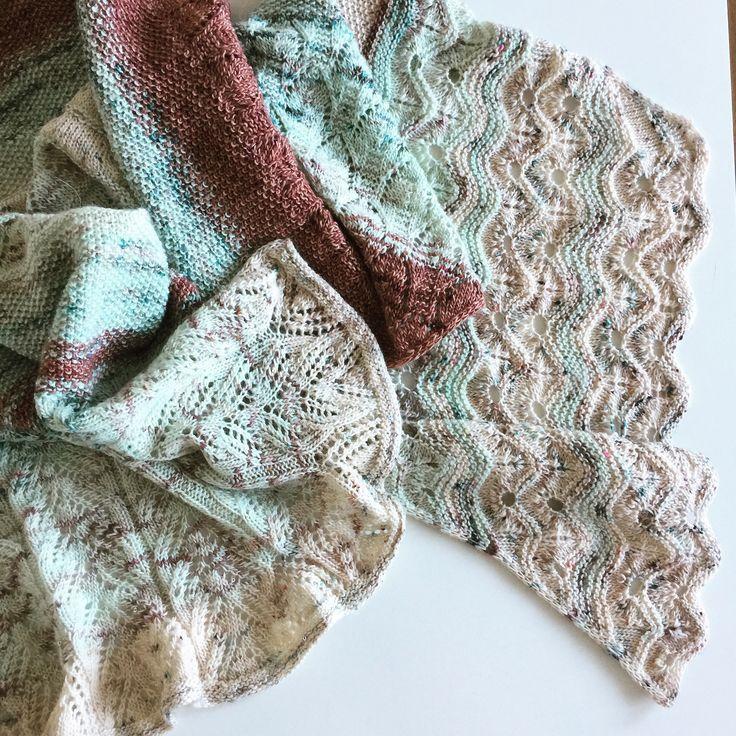 MÅNAFOSS Wrap by Helle Slente Design | pattern launch late November '17 | Ravelry knitting pattern