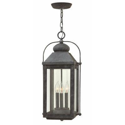 Hinkley Lighting Anchorage 3-Light Outdoor Hanging Lantern
