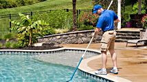 If you are finding it difficult to clean your swimming pool, we are here to help you to clean your pool. For more details contact us: http://www.browningpools.com/services/maintenance/