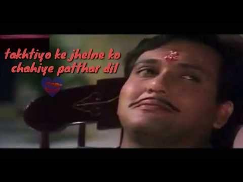 Best dialogue govinda    naseeb movie    shayri style