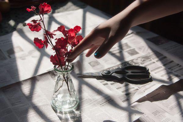 How to make liquid vase filler yourself fresh flower for Design your own flower arrangement