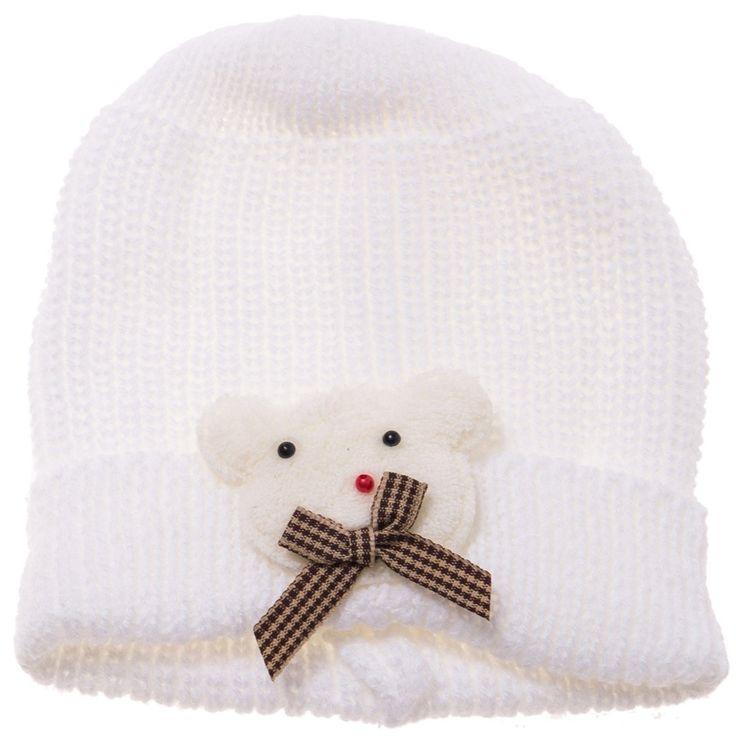 ΑΖ παιδικό σκουφάκι «Bear» Κωδικός: 17808  €4,50