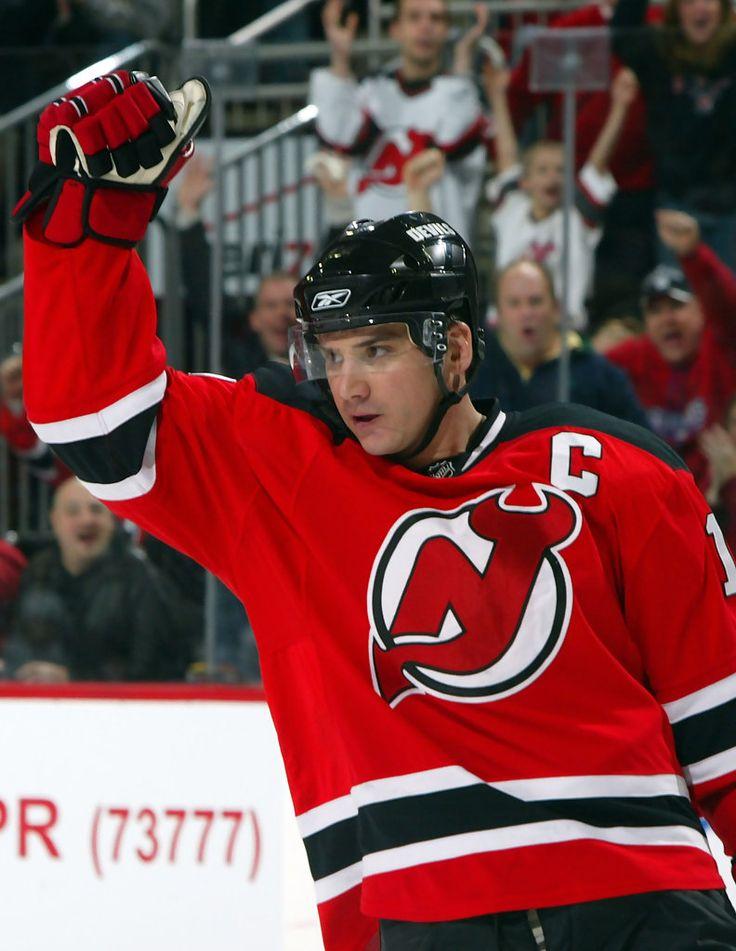 (former Kalamazoo Wing!!!) Jamie Langenbrunner, New Jersey Devils
