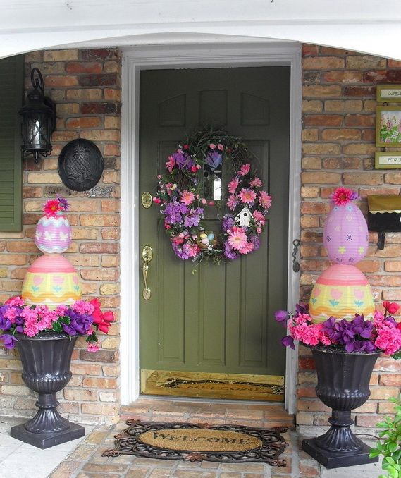 128 best Easter - Outdoor Decorations images on Pinterest | Easter ...