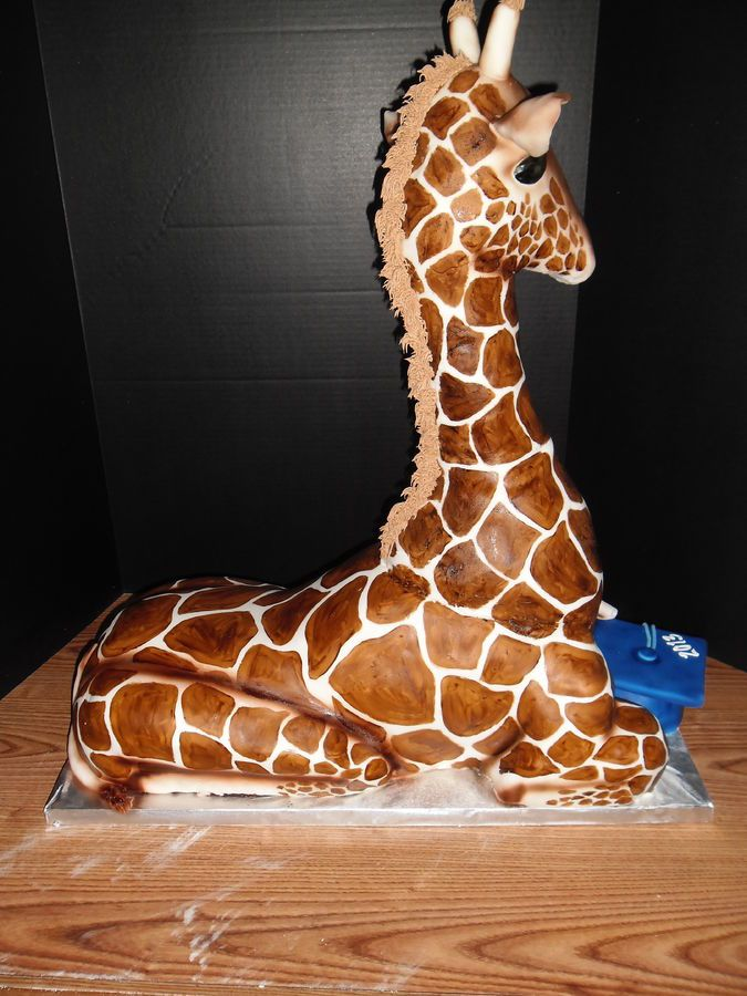 3D Giraffe Cake — Animal