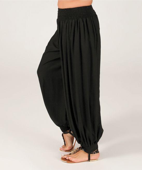 Black Harem Pants -