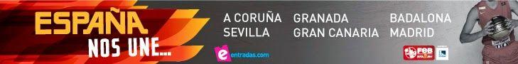 España vs Argentina - último partido amistoso previo mundial baloncesto 25 agosto 2014