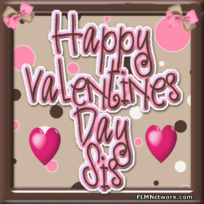 happy valentine's day to my friend and sister clipart - Google Search