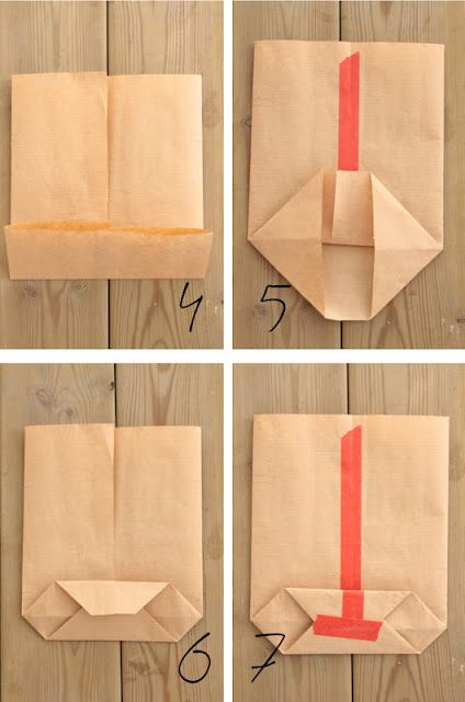 How to fold a paper bag - part 2.