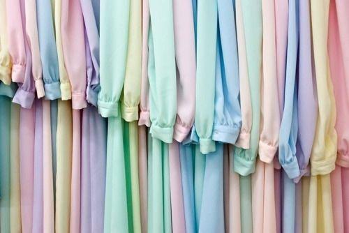 Colori pastello: i colori moda 2012