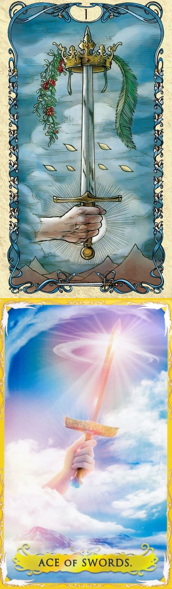 Ace of Swords: potential for immense power and success and chaos (reverse). Mucha Tarot deck and Alchemia Tarot deck: best free psychic readings online, lotus tarot free online reading and ask tarot. Best 2017 paganism beliefs and halloween decorations.