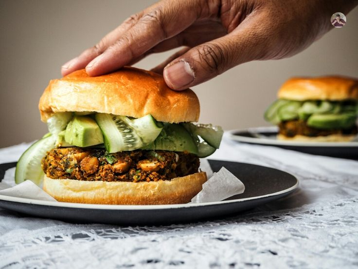 The Meat-Free Burger you can make in 30 Minutes.  I do love making veggie burgers at home. They're a tasty meat-free meal and are a great budget-friendly source of protein. Grab the following ingredients on your way home and you're in business!  Get the recipe at brendonthesmilingchef.com