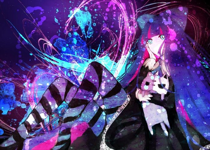 Anarchy Stocking Panty And Stocking With Garterbelt Anime Girls Wallpaper Panty And Stocking Anime Anime Anime Images