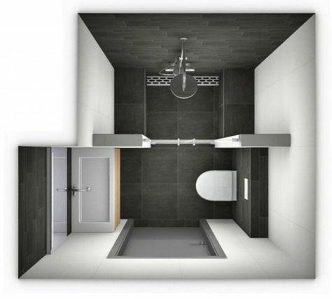 Die Besten 25+ Badezimmer 3m2 Ideen Auf Pinterest Badezimmer 6m2   Badezimmer  3 5 M2